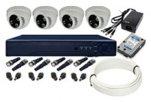 Paket CCTV Jogja, 4 Channel Camera AHD